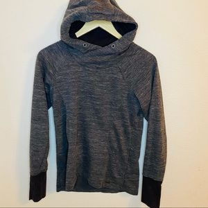 Avalanche Women's Mila Pullover Hoodie Gray Sz:S